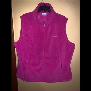Columbia vest worn a couple times like new